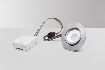 BLUETOOTH LED-DOWNLIGHT, MD-230 TUNE, RGBCW, 5W, SATIINI