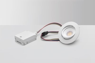 BLUETOOTH LED-DOWNLIGHT, MD-230 TUNE, RGBCW, 5W, VALKOINEN