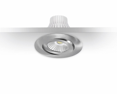DOWNLIGHT MD-360 LED 10W IP44 230V 4000K SATIINI