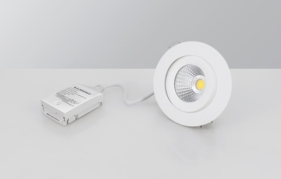 DOWNLIGHT MD-360 LED 6W VALKEA AC-CHIP IP44 3000k