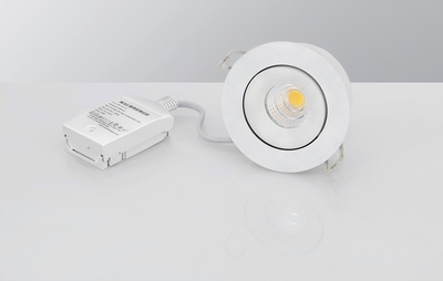 DOWNLIGHT MD-70 LED 6W 230V AC-CHIP 2700k