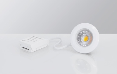 Downlight MD-99 LED 5W 230V Valkoinen IP44 2700k