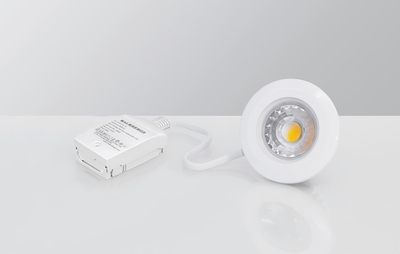 Downlight MD-99 LED 5W 230V Valkoinen IP44 3000k