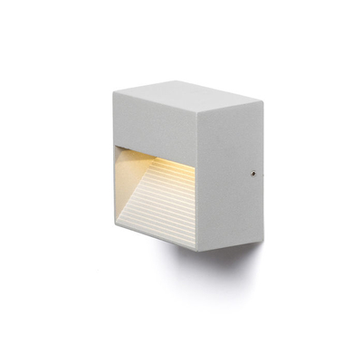 ITAKA seinä hopeanharmaa 230V LED 2W 103° IP54 3000K