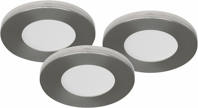 LED DOWNLIGHTPAKETTI MD-305 9W 230V IP21 SATIINI